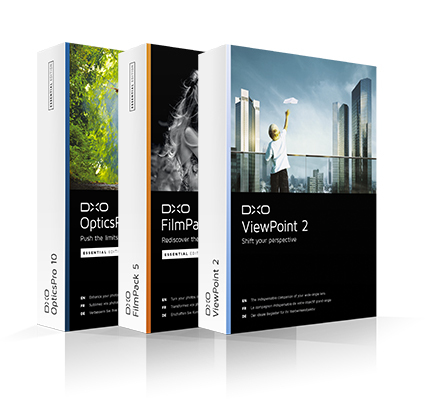 DxO Photo Suite • Édition Essential