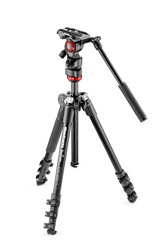 Manfrotto Befree kit avec tête Live