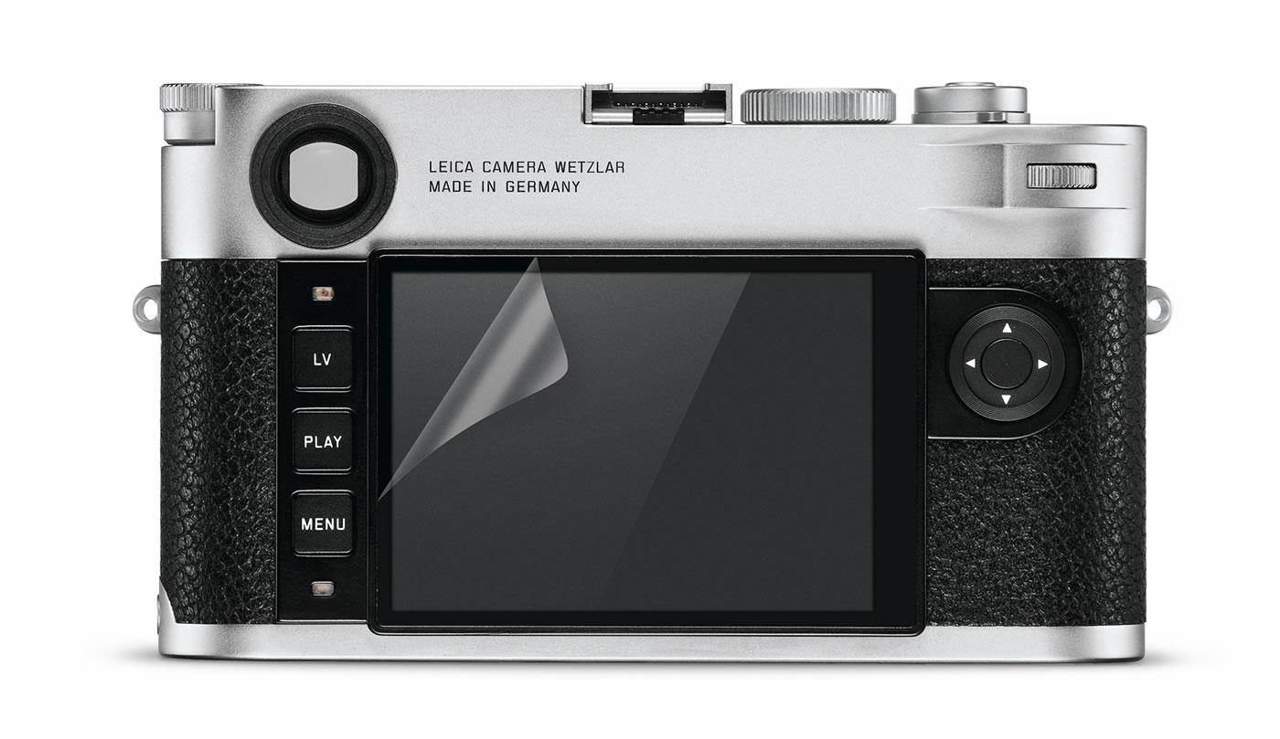 Leica Entfernungsmesser Ersatzteile : Leica display protection foil for m lecuit