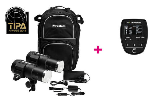 Profoto B1 500 AirTTL Location Kit + Air Remote TTL Canon offerte