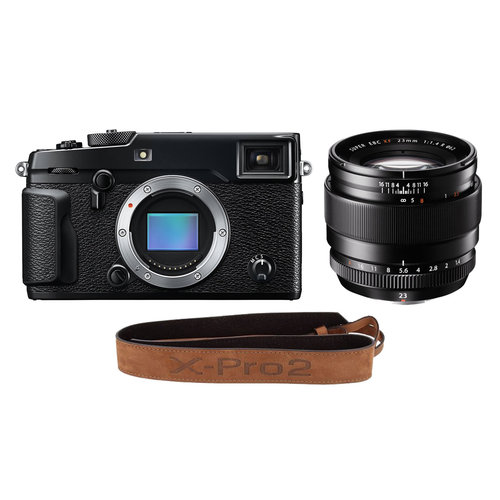 FUJIFILM X-PRO2 KIT + XF 23mm F1.4 R + COURROIE EN CUIR EXCLUSIVE