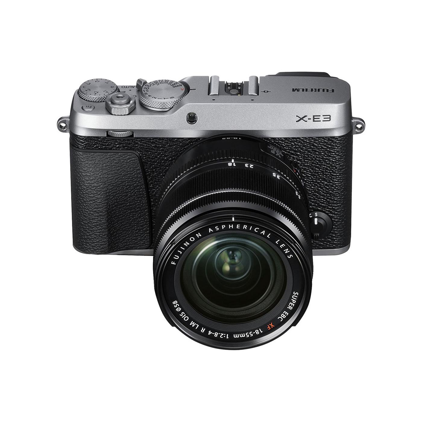 Fujifilm X E3 Kit Silber Xf 18 55mm F28 4 R Lm Ois D10691 Sk Fujinon Xf18