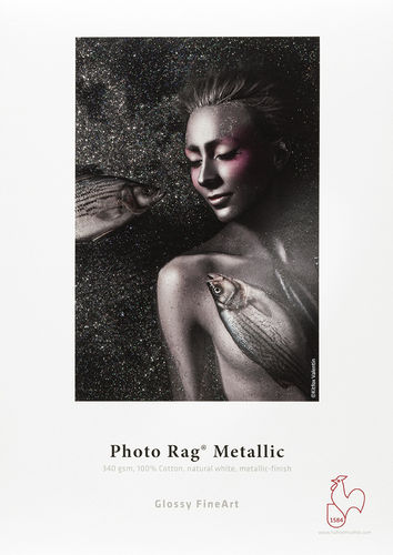Hahnemühle Photo Rag® Metallic • A2 (25 feuilles)